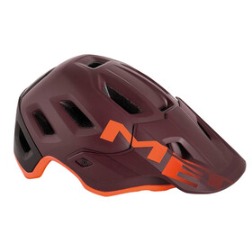 MET Roam - Casque de vélo - orange/rouge